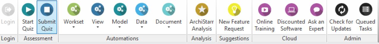 ArchiStar Academy Toolbar